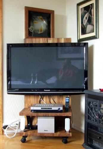DIY Trillbart TV bord for flatskjerm | AVforum.no
